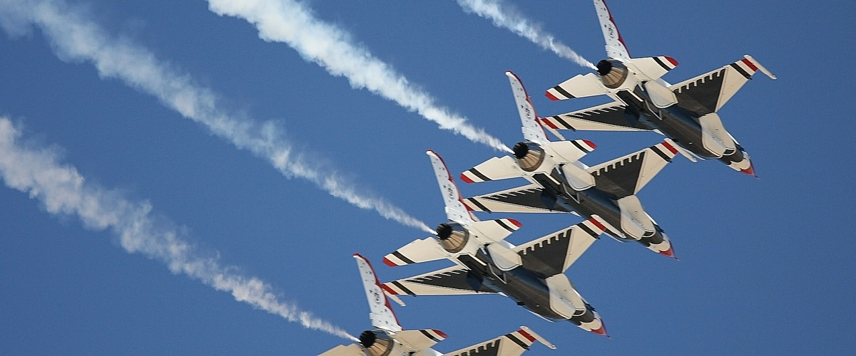 Air Show Draws Record Crowds